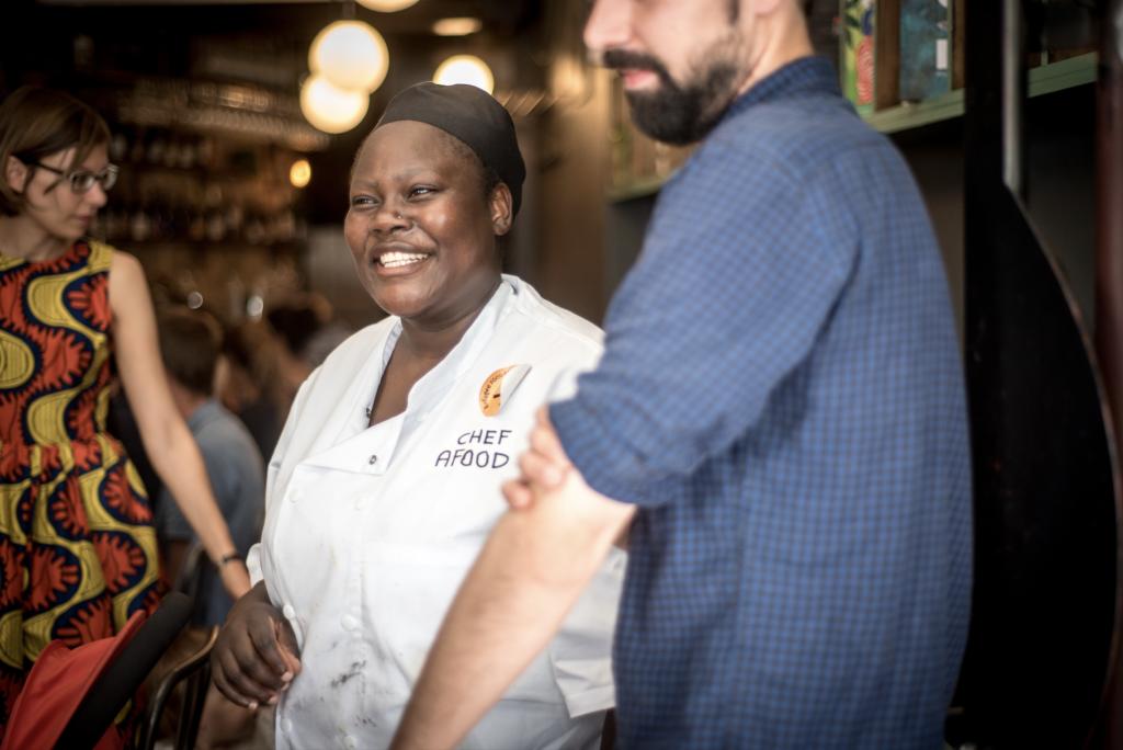 restaurant_la_traversée_paris_chef_afousatou_soro_refugee_food_festival_2017