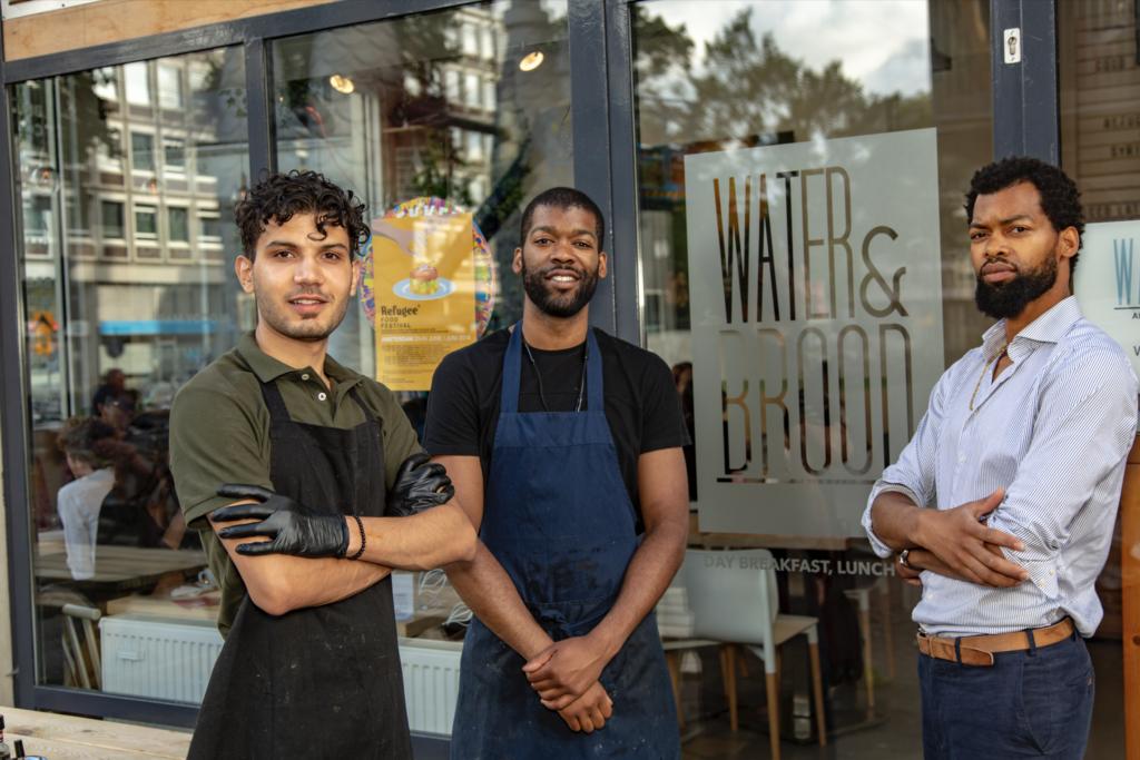 refugee food festival restaurant amsterdam