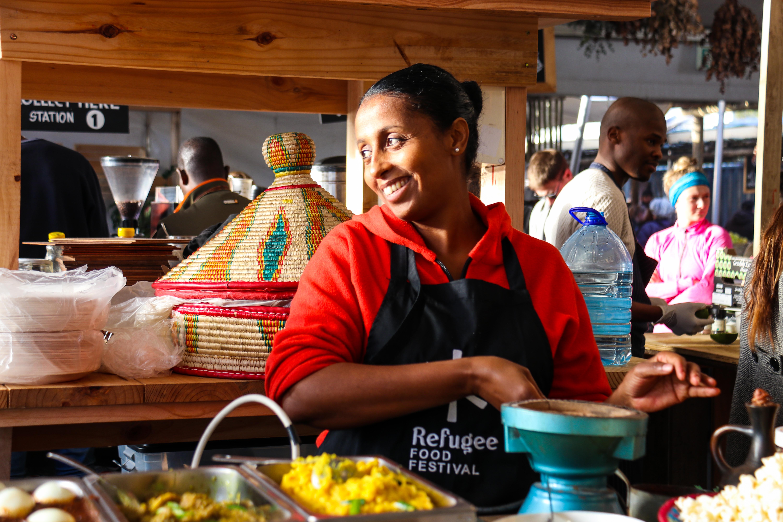 Refugee Food Festival CAPE TOWN 2018 _ Oranjezicht City Farm Market x Yodit (Ethiopie)_ CRED. Cindy Helfer(3)